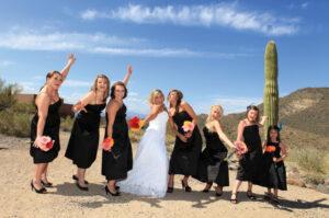 Fun Phoenix wedding photographer