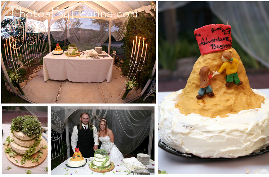 Princess meets mountain man: Beautiful Arizona Wedding!